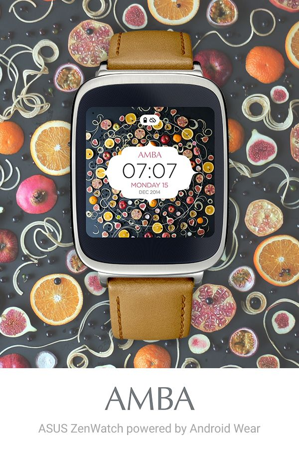 Raw Vegan Blonde watch face for Android Wear