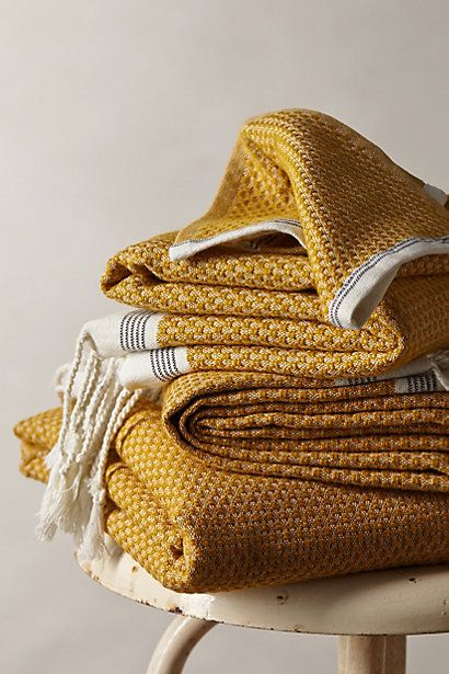 Mediterranean Bath Towels – Anthropologie, $12-58