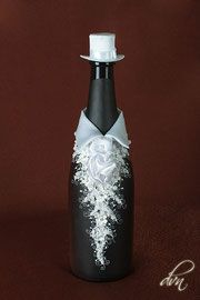 Свадебное шампанское и вино - Свадебные аксессуары от dvn
