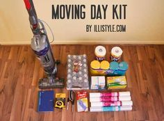 Tip: Provide a moving day kit filled with items such as snacks, paper towels, plastic cups, bottled water, flashlights, box cutters, and don't forget the phone number and a coupon for a great local pizza delivery place. Take it to their new house on their move-in day.