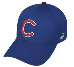 Chicago Cubs Major League Base Ball adjustable cap