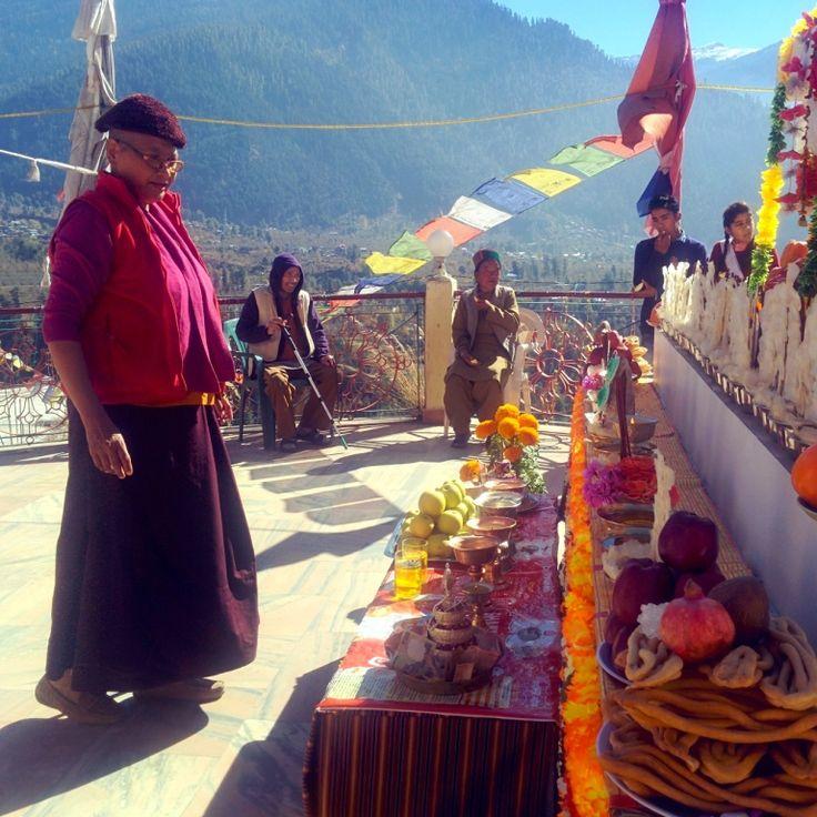 Pangan Monastery secluded spot near manali
