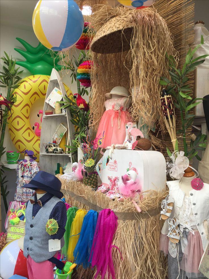"Aloha!!! Nikolas Ker ""the store"" #aloha #summer #decoration #nikolas_ker #athens #greece #store #shop #nea_ionia #vaftisi #vaptisi #flamingo #paneapple"