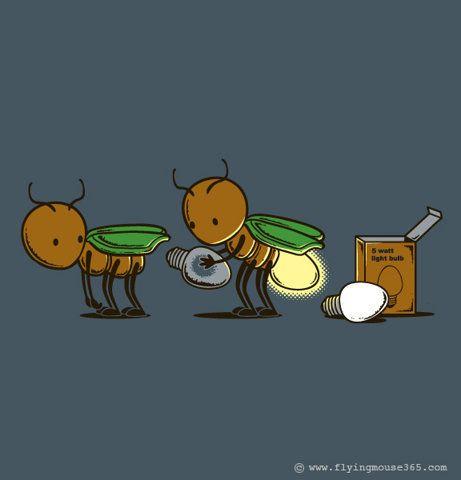 Fireflies...that's just cute