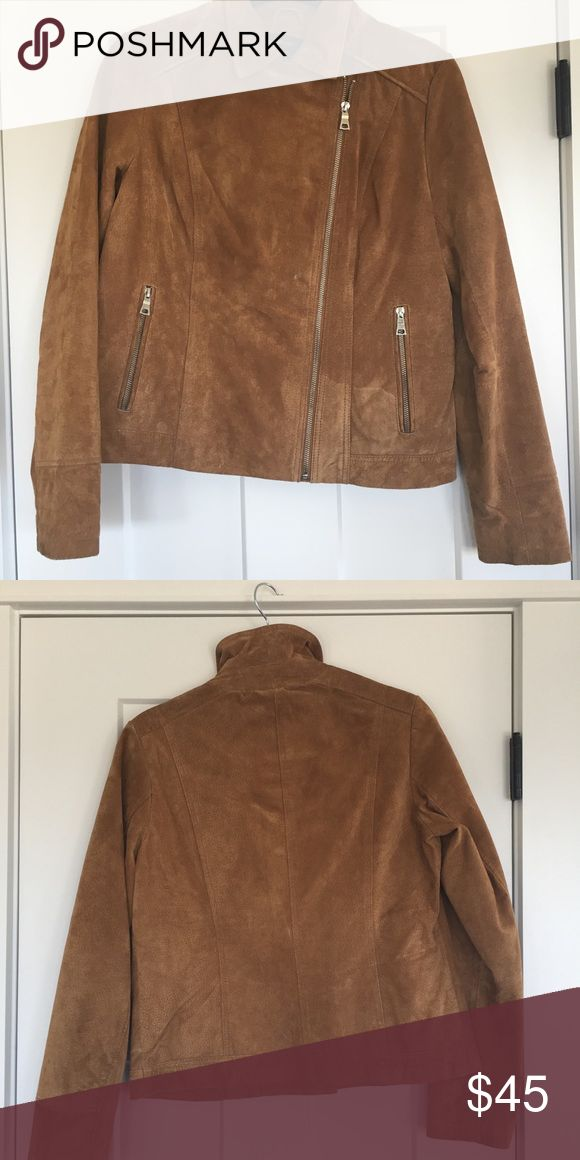Retro suede jacket Forever 21 suede jacket, worn once. Forever 21 Jackets & Coats