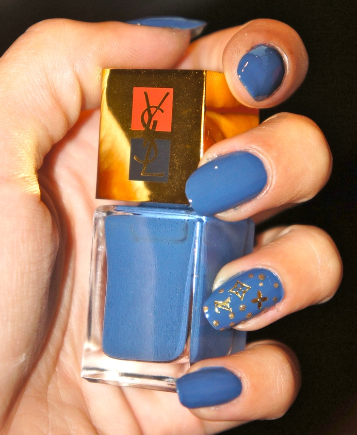 YSL Jean Couture Vuitton Nailart