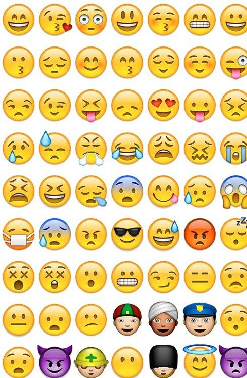 What the Emojis We Use Really Mean: As Told By Gifs | Her Campus