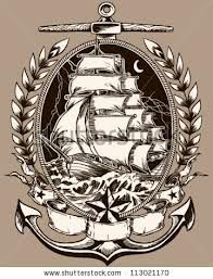 old school pirate ship tattoo - Google Search