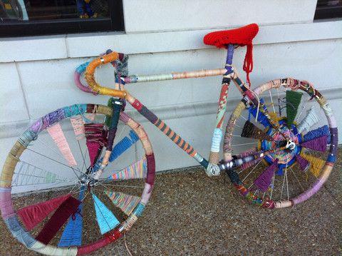 Pimp my bike, with yarn!