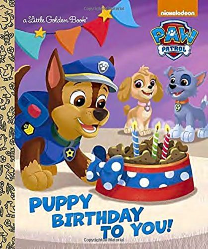 Golden-Book-Puppy-Birthday-You-Paw-Patrol-Little-Books-New-Hardcover-Free-Shippi