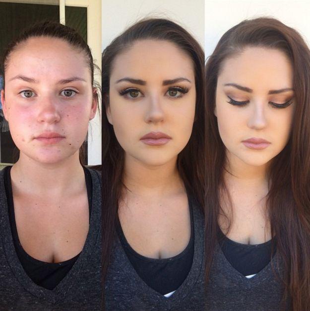 Solo unas pestañas para morirse de envidia… | 21 Fotos antes/después que prueban el poder del maquillaje