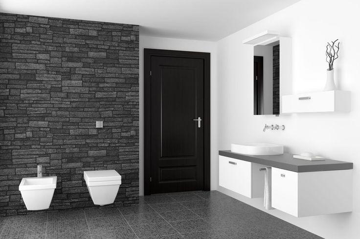 Výsledek obrázku pro umělý kámen v koupelné