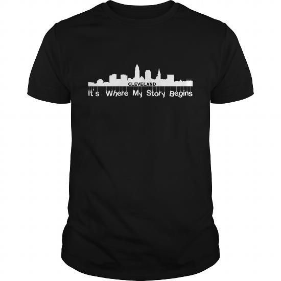 Cool Cleveland- It is where my story begins T-Shirt