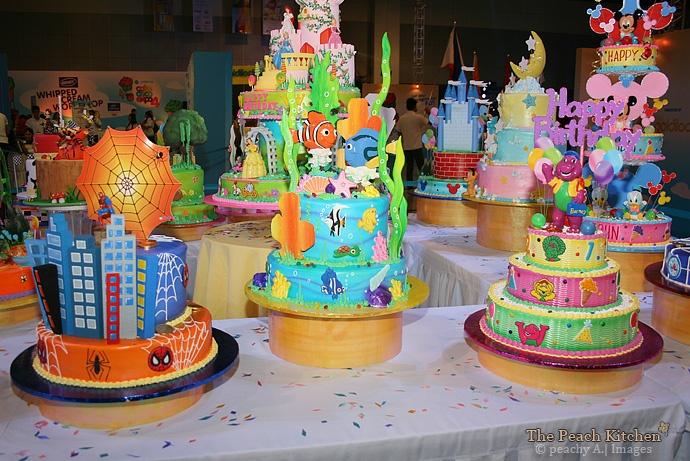 The Goldilocks Cake Deco Expo 4 - The Peach Kitchen
