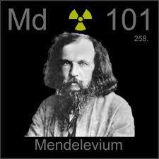 Mendelevio Elemento quimico - 101 Md