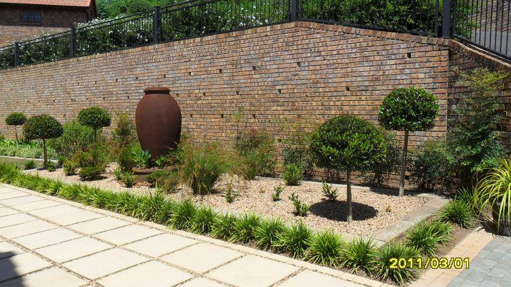 formal flowerbed