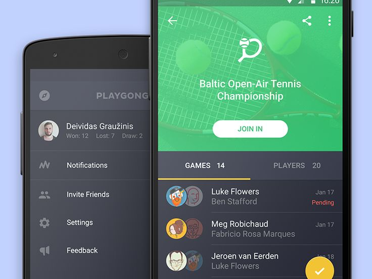 More things, like profile tab & inside tournament screens here.   Have a good friday, mates.