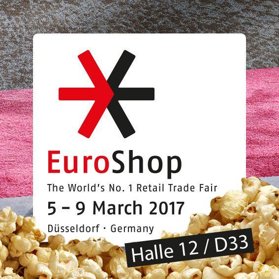 Letzter Aufruf zur #EuroShop 2017 in Düsseldorf! Vom 5. bis 9. März sind wir auf der bedeutendsten Handelsmesse für Euch am Start - selbstverständlich mit frischem Popcorn! Besucht uns in Halle 12 / D33! © TOUCAN-T #teppich #teppichboden #akustik #buero https://www.toucan-t.de/de/news/euroshop  Last call for #EuroShop 2017 in Düsseldorf! From 5 to 9 March we are at the most important trade fair - fresh popcorn guaranteed. Visit us in Hall 12 / D33!