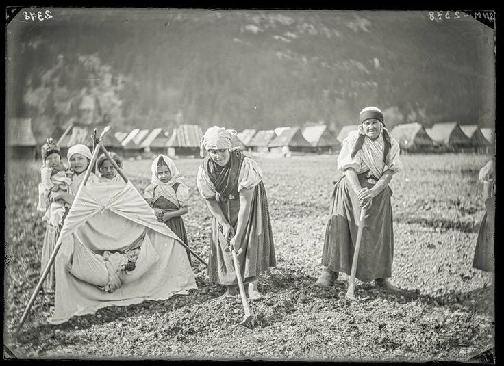 A picture from Hubová, Slovakia, some time between 1893-1912