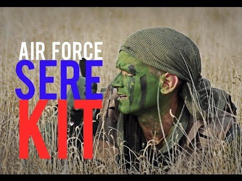 SERE Kit- Air Force Kit - YouTube