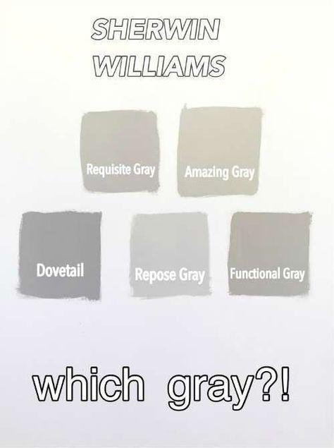 Sherwin Williams Gray Versus Greige. 17 best ideas about Sherwin Williams Gray on Pinterest   Gray