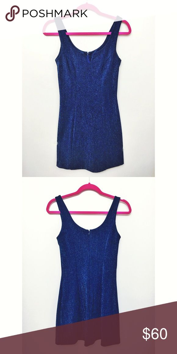 Betsey Johnson Electric Blue Dress This gorgeous electric blue dress has only been worn once. In perfect condition. Betsey Johnson Dresses Mini