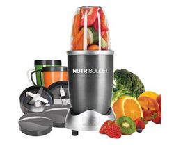 The NutriBullet juicer is really easy to use. Simply place your ingredients into the tall cup and blitz them into a smooth mix. The powerful motor forces ingredients through the blades so that even nuts, seeds and ice will be blended.
