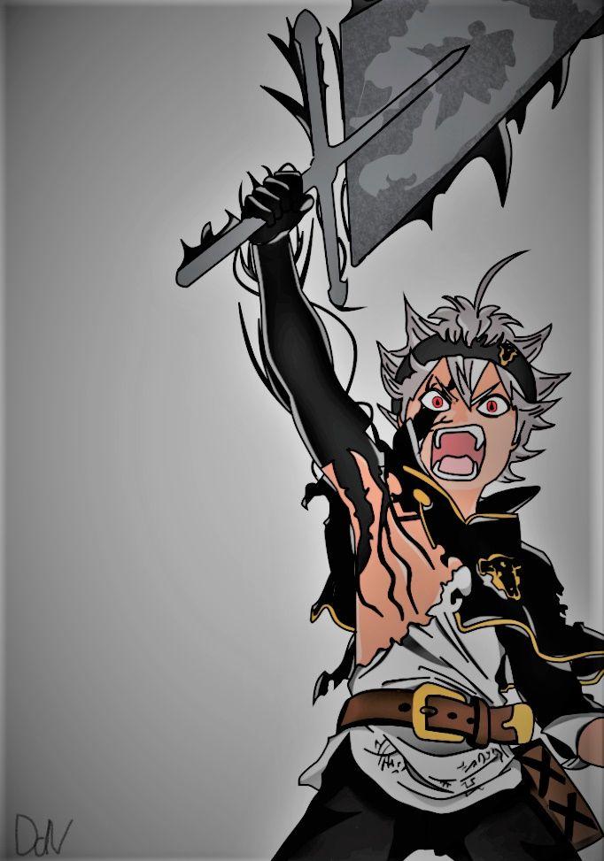 Asta Black Clover Tudo Anime Fotos Animes