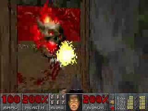 """Final Doom (Plutonia) Level 32 """"Go 2 It"""" [god mode]"""