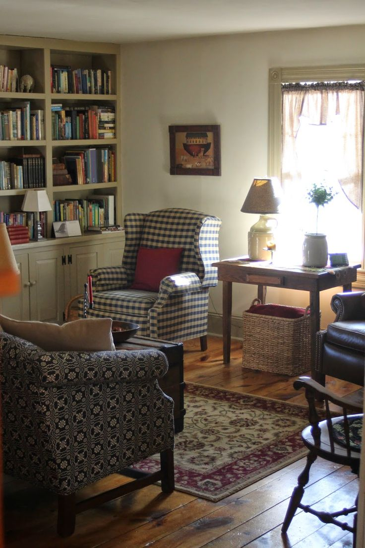 128 best Inspiring ColonialPrimitive Living Rooms images on
