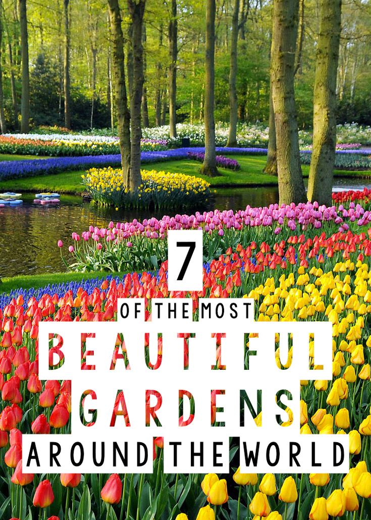 The Most Beautiful Gardens Around the World | The Blonde Abroad @gardencollage
