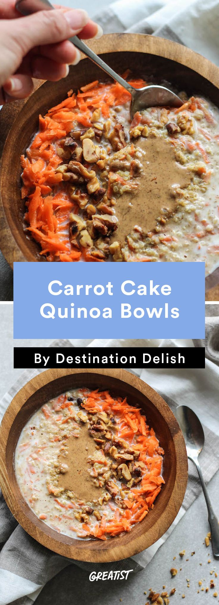 Quinoa Breakfast Cake Recipe — Dishmaps