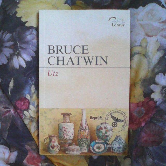 """#brucechatwin #utz #book #książka """"No, ale takie jest życie! Najbrzydsi ludzie kochają najpiękniejsze przedmioty."""""""