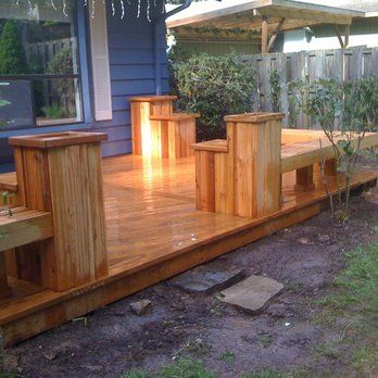 10 Best Ground Level Deck Ideas Images On Pinterest Ground Level Deck Decks And Terrace