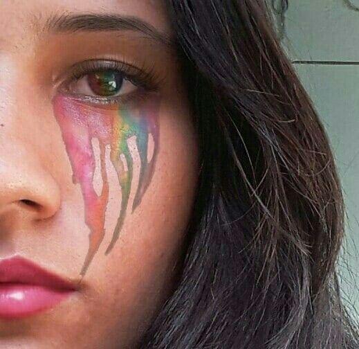 """""""A alma não teria arco-íris se os olhos não tivessem lágrimas.""""  #arcoiris #cor #lagrimasarcoiris #lagrimas"""