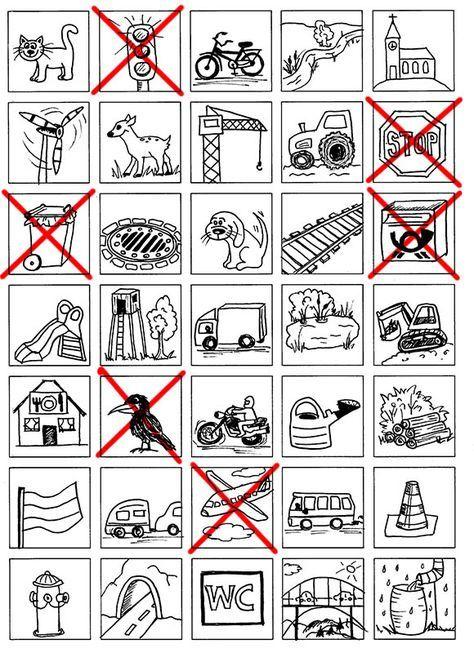 Autobingo - Bingo für lange Autofahrten