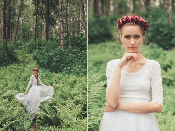 "Платье "" White Rose"""