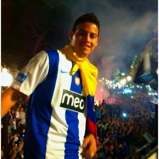 James Rodríguez el niño maravilla jugador del FC Porto cotizado en 50 Millones de €