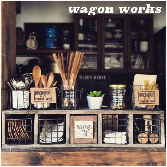 ブログUPしました♪/端材 DIY/セリア/IG→wagonworks/DIY…などのインテリア実例 - 2015-05-17 21:02:35 | RoomClip(ルームクリップ)