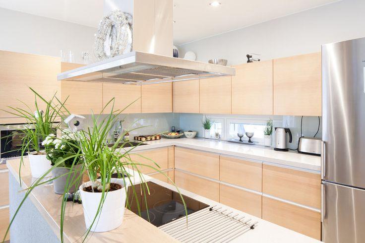 Keittiön tunnelmaa kivitalossa, lisää ideoita www.lammi-kivitalot.fi