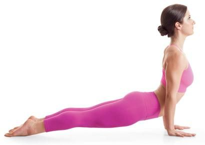 yoga for posture: upward-facing dog pose 5 Yoga Fixes For Bad Posture Prevent a hunched back with these beginner yoga moves