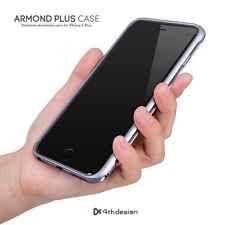 4thdesign Armond Aluminium Metal Bumper Cases Cover for iPhone 6 Plus Titan Gray