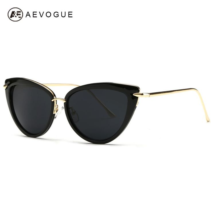 Cheap sol ink, Buy Quality uv400 ce directly from China sol Suppliers:    AEVOGUE Free Shipping Newest Brand Designer Alloy Temple Sunglasses Women Hot Selling 7 colors Sun Glasses Oculos UV4