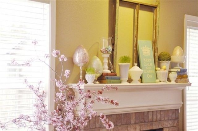 The 66 best Mantel ideas images on Pinterest | Fireplace mantels ...
