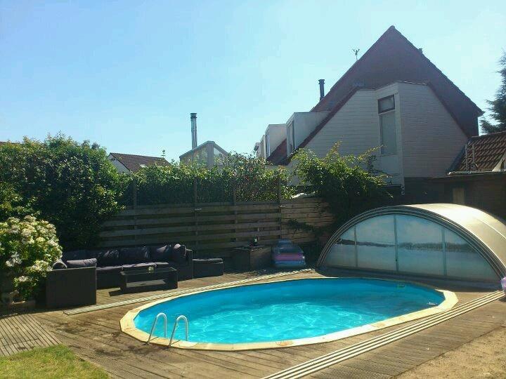 Zwembad + zithoekje