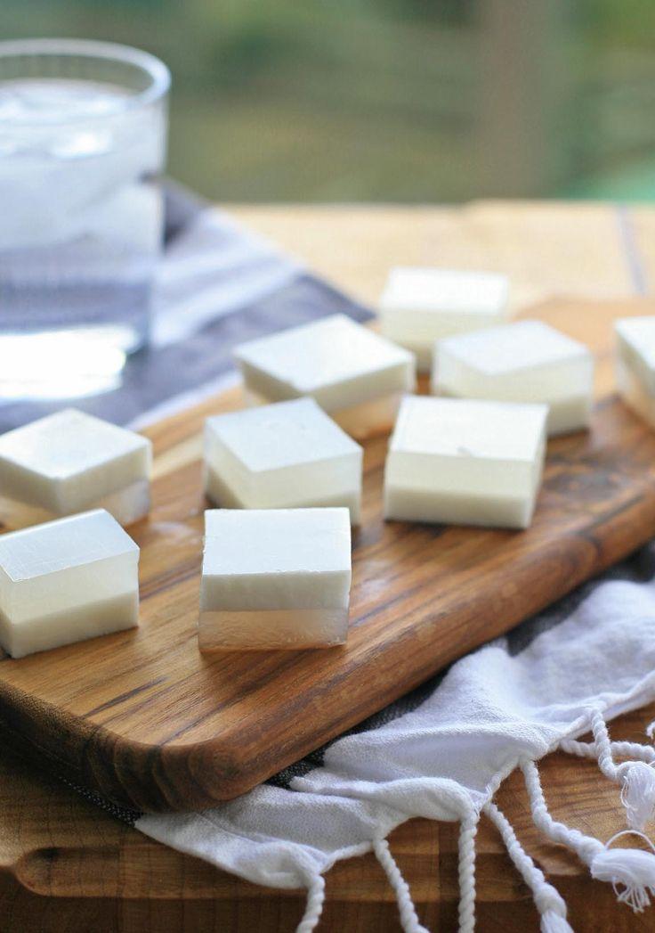 Coconut Agar-Agar JelliesBurmese Coconut Agar-Agar Jellies. Super fun (and easy) to make and eat!
