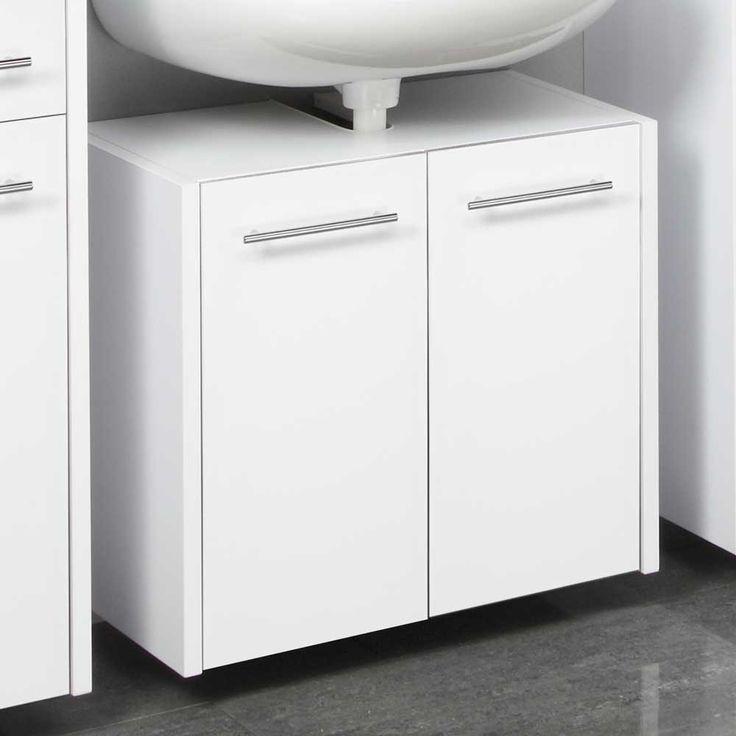 Waschbeckenschrank in Weiß hängend Jetzt bestellen unter: https://moebel.ladendirekt.de/bad/badmoebel/waschbeckenunterschraenke/?uid=a60c1520-3c5c-5272-84b2-ada21742c5f8&utm_source=pinterest&utm_medium=pin&utm_campaign=boards #waschtischunterbau #waschschrank #bad #waschtischkonsole #hängeschrank #waschbeckenunterschrank #badezimmerschrank #badschrank #badmoebel #waschbeckenschrank #waschtischunterschrank #waschtisch #badezimmer #waschkommode #waschbeckenunterschraenke