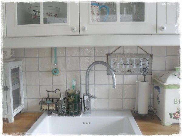 Интерьер в стиле шебби шик в отдельно взятой квартире. Кухня-столовая 4