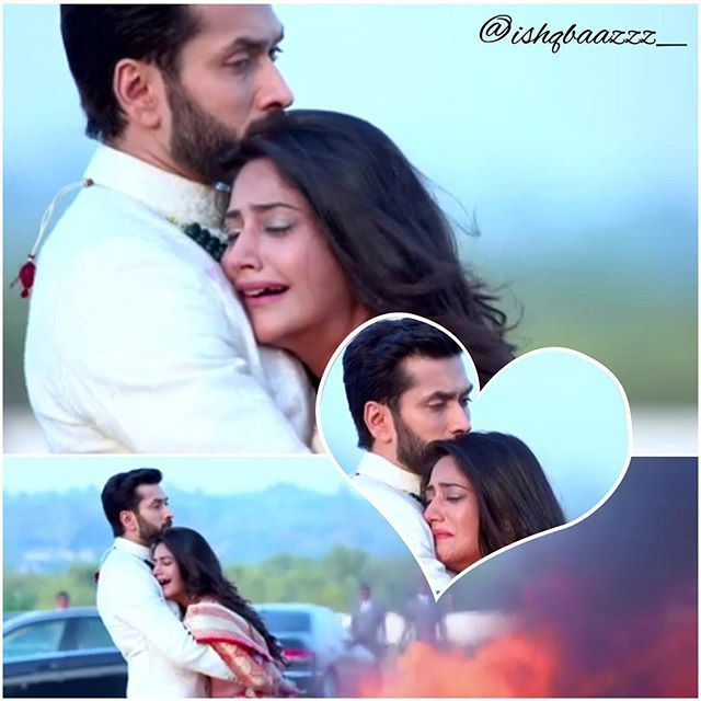 "Today's episode was just out of the world. This ""hug"" was AWESOME. So many emotions at the same time. Mind blowing acting by @nakuulmehta and @officialsurbhic #ishqbaaz #ishqbaaaz #shivika #shivaay #anika"