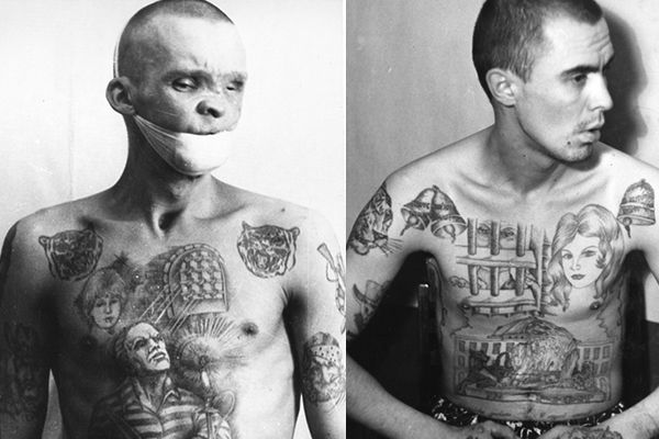 tatuaje criminal ruso rusia
